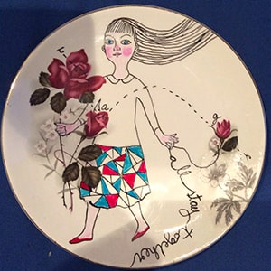 Upcycled Plates