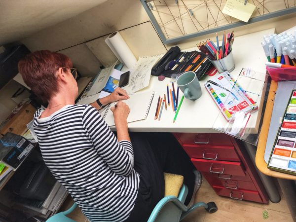 Student illustrator