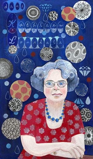 Kathleen Lonsdale Portrait by Adrienne Geoghegan