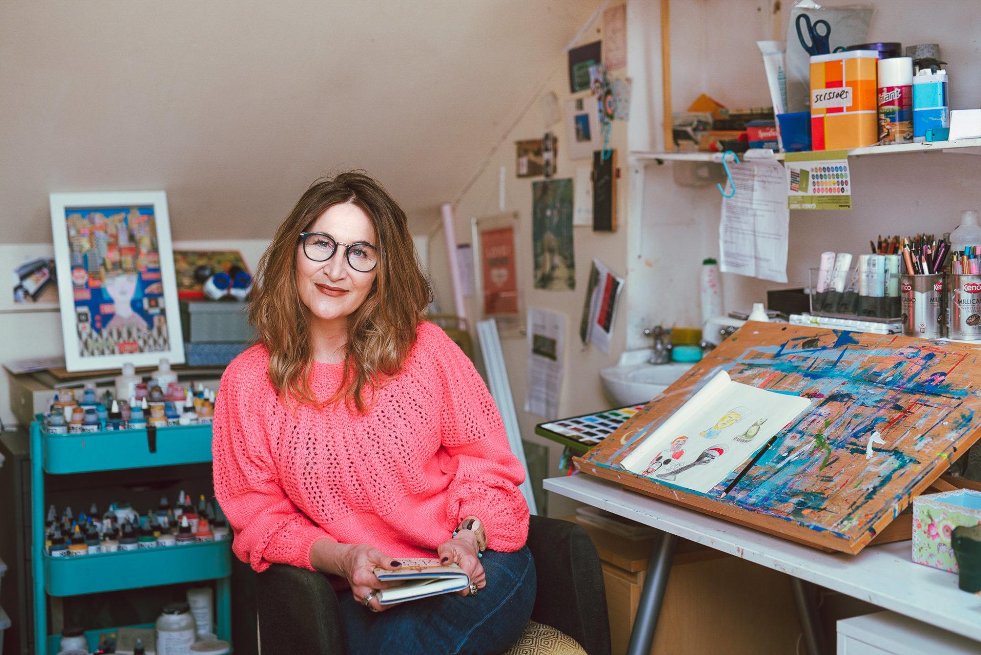 Adrienne Geoghegan's Studio